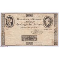 FRANCE ASSIGNAT A PORTRAIT 25 Livres 1791 B+ L' Art Des Gents  Numismatique Avignon - Assignats