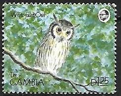 Gambia - MNH ** 1990 : Northern White-faced Owl  -  Ptilopsis Leucotis - Sonstige