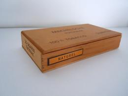 Mechelsche Tuitknak Sumatra Houten Kist Voor 25 Sigaren Boïte En Bois Pour 25 Cigares 19 X 10,5 X 3,5 Cm - Scatola Di Sigari (vuote)