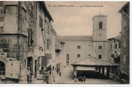 Le Cheylard-La Place Couverte - Le Cheylard