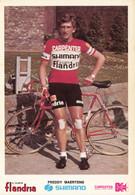 Carte - Freddy Maertens - Groupe Sportif Shimano Carpenter Flandria - Cycling