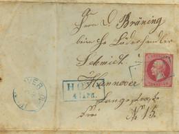 ~1859 HOYA  Bfh. 1 Groschen N. Hannover - Briefe U. Dokumente