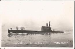 CPSM - Sous Marin - La Créole - Militaire - Submarines