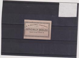 ETATS UNIS-TP RETOUR N° 6-NSG- 1890   TTB - Vari
