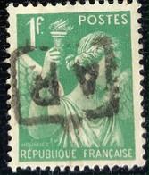 République Française - France - P5/7 - (°)used - 1939 - Michel 394 - Iris - Usados