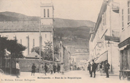 BELLEGARDE (Ain) - Rue De La République - Bellegarde-sur-Valserine