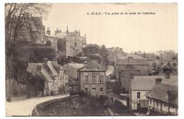 Saint-lo , Vue Prise De La Route De Carentan - Saint Lo