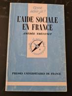 L'aide Sociale En France Amédée Thévenet +++BE+++ LIVRAISON GRATUITE+++ - Unclassified
