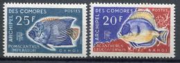 Comores       47/48 **   Poissons - Unused Stamps