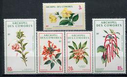 Comores                    69/71 ** + PA  37/38 **   Fleurs - Airmail