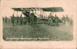 59521- Ein Bei Monchy Abgeschossener Englischer Doppeldecker Um 1915 - 1914-1918: 1ra Guerra