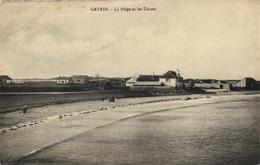 Gavres - La Plage Et Les Usines - Otros Municipios