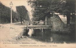 VILLEDIEU LES POELES : LA SIENNE - Villedieu