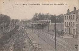 69 - LYON - Boulevard De Pommerol Et Pont Du Chemin De Fer - Lyon 5
