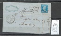 France  -Gc  3382 - SEPPOIS LE BOIS - Type 22 - 1865 - Haut Rhin - 1849-1876: Klassik
