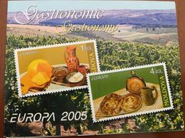 CARNET NEUF 6 TP EUROPA MOLDAVIE 2005 - GASTRONOMIE - 2005