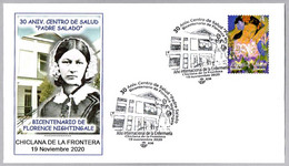 30 Años Centro De Salud - 200 Años FLORENCE NIGHTINGALE. Chiclana De La Frontera, Cadiz, Andalucia, 2020 - Medicine