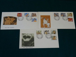 Greece 1986 Olympian Gods Unofficial FDC VF - FDC