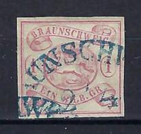 ⭐ Allemagne - Brunswick - YT N° 1 - Oblitéré - 1852 ⭐ - Braunschweig