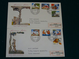 Greece 1987 Aesop's Fables Imperforate Unofficial FDC VF - FDC