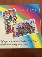 CARNET NEUF 6 TP EUROPA  MOLDAVIE 2006 - INTEGRATION - 2006
