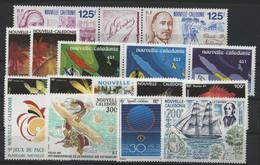 Nouvelle Calédonie N° 607 à 622 COTE 53.3 € Neufs ** (MNH) - Neufs