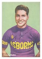 CARTE CYCLISME FRANCESCO LUCHESSI TEAM LOCOMOTIEF 1957 - Ciclismo