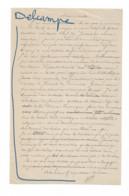 Alexandre Félix Legentil, 1821-1889. Homme D'affaire, Traducteur, Philanthrope. - Autogramme & Autographen