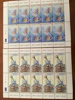 2 FEUILLETS NEUFS 10 TP EUROPA  ARMENIE 2006 - INTEGRATION - 2006
