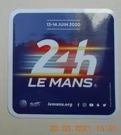 AUTOCOLLANT   24 Heures Du  MANS  AUTO  2020   ( 10cm X 10cm ) - Altri
