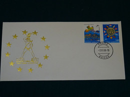 Greece 1988 European Council Imperforate Unofficial  FDC VF - FDC