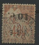 Nouvelle Calédonie N° 13a COTE 22 € Surchage Renversée. Oblitéré - Used Stamps