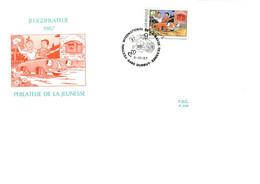 DURBUY : FDC 3.10.1987 FESTIVAL INTERNATIONAL DE LA BANDE DESSINEE - Non Classificati