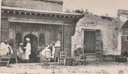 Tunis. Café Maure. Scan - Tunisie