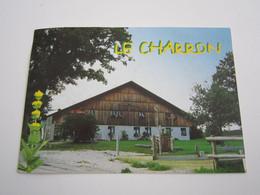 MONTLEBON Auberge Au Charron Chef De Cuisine Jean Pierre CAILLET - Altri Comuni