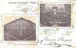 TORINO / COLLEGIO SAN GIUSEPPE - SINCERI AUGURI - Andere