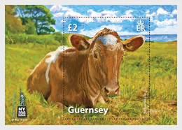 Guernsey 2016 MS - World Stamp Show NY2016 Commemorative Sheet - Guernsey