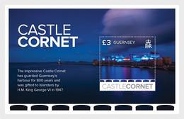 Guernsey 2017 MS - Europa 2017 - Castles - Guernsey