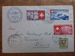 SVIZZERA - Pro Aereo - Volo Zurigo-Zurigo + Spese Postali - Sonstige Dokumente