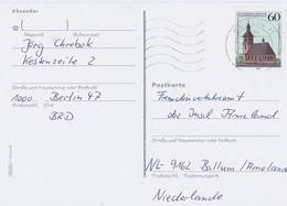 Duitsland Berlin  Postkaart Met Michelno. 855 (1683) - Storia Postale