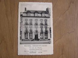BLANKENBERGHE Hôtel Deketelaere Flandre Belgique Carte Postale Postcard - Blankenberge