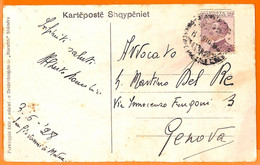 98951 - ITALY  - POSTAL HISTORY - POSTCARD Sent From  ALBANIA  1928 - Dalmatia