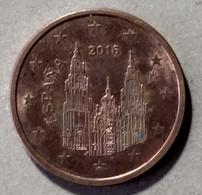 2016 - SPAGNA  - MONETA IN EURO - DEL VALORE DI 5 CENTESIMI -  CIRCOLATA - - Spanien