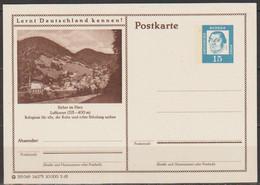 BRD Ganzsache 1963 MiNr.P81 24/175 Rathaus Sieber Im Harz Ungebraucht( PK 65) Günstige Versandkosten - Geïllustreerde Postkaarten - Ongebruikt