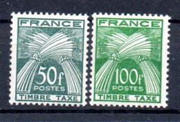 N1-7  France Taxe N° 88 + 89 **  à 10 % De La Côte. A Saisir !!! - 1960-.... Nuevos