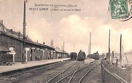 Heist Heyst  - La Gare, Vue Du Quai De Départ (train 1913 SD) - Heist