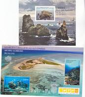 TAAF Nouveauté 2021 Récifs Coralliens Et Ilot Des Apotres Feuillet Neuf ** TB MNH Sin Charnela Faciale 5.5 - Nuevos