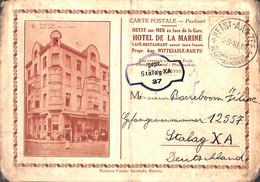 Heist Heyst  - L'Hôtel De La Marine (Vander Bauwede 1940 Envoyé Stalag Prisonnier...arme Conditie) - Heist