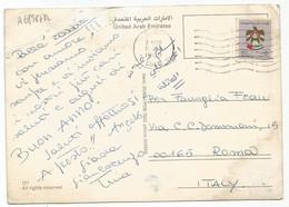 A6878 Dubai - Multiviews - Nice Stamps Timbres Francobolli / Viaggiata 1989 - Emirati Arabi Uniti
