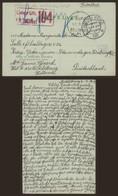 Guerre 14-18 - Briefkaart (Middelburg 1918) > Stammlager VIII + Gepruft 104 - Marcophilie